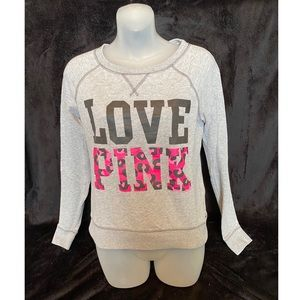 VS PINK Pullover Sweatshirt Small